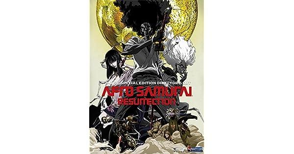Amazon.com: Afro Samurai: Resurrection - Directors Cut ...