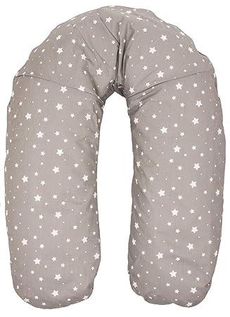 Fillikid Stillkissen Seitenschläferkissen abnehmbarer Baumwollbezug 180 cm