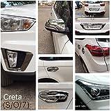 Woodman Chrome Accessories for Hyundai Creta