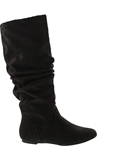 discount sale attractive colour best quality West Blvd Saigon Slouchy Mid-Calf Flat Boots