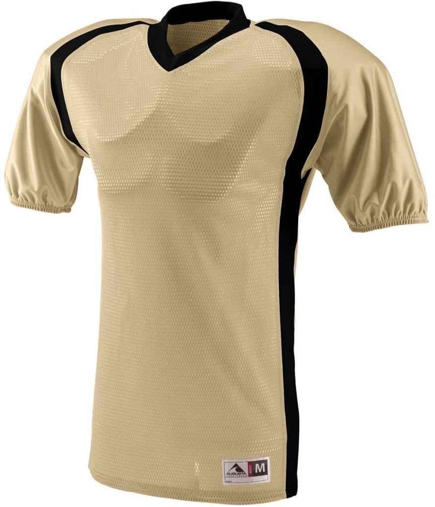 Augusta Sportswear Boys ' Blitz Jersey B00IUJBCDM Vegas Gold/Black Large