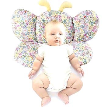 DIVAND Almohada de Apoyo del Cuello del bebé, Suave de Viaje ...