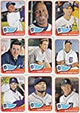 Detroit Tigers 2014 Topps Heritage MLB Baseball Complete Mint Basic 9 Card Team Set with Torii Hunter Plus