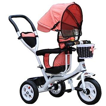 Carrito de bebé Triciclo Baby Carriage Bicicleta de Juguete Infantil ...