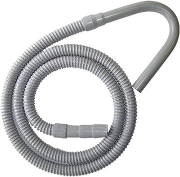 Renewed Black GE WH41X10096 Washing machine corrugated drain hose