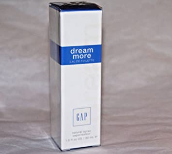 GAP DREAM MORE WOMEN EAU DE TOILETTE PERFUME TRAVEL SIZE 1 OZ / 30 ML