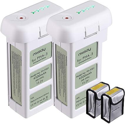 15.2V 4500mAh Standard Intelligent LiPo Battery For dji Phantom 3 Series