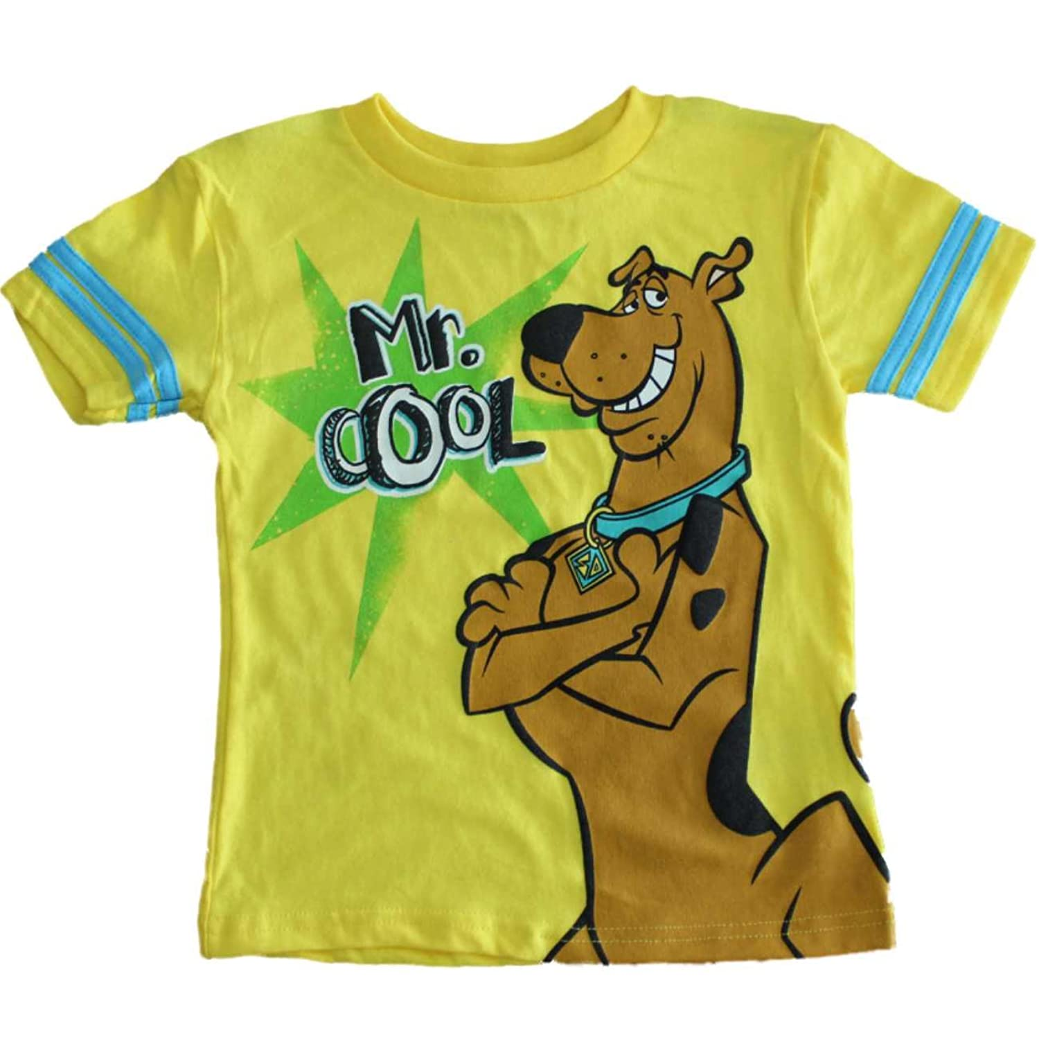 bd71e2fd Amazon.com: Scooby-Doo Mr. Cool Little Boys T-shirt (2T-4T) (2T): Clothing