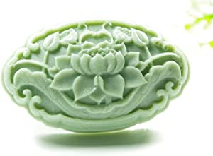 Longzang Lotus Flower Mould S429 Craft Art Silicone Soap Mold Craft Molds DIY Handmade Candle Molds