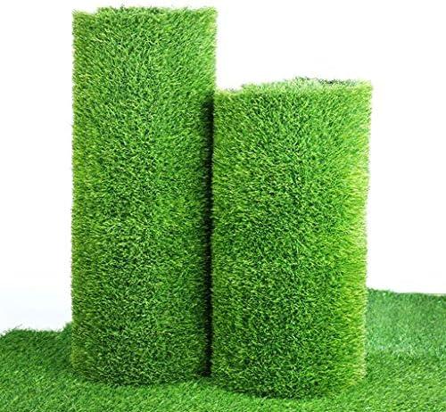 人工芝ターフ、屋内屋外の庭の芝生の風景人工芝マット - 厚手のフェイク草ラグ (Size : 7x6Feet)