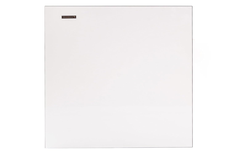 Ceramic Heater 400W. Ultra Slim Wall Mounted Infrared Electric Panel - Teploceramic TCM 400 White