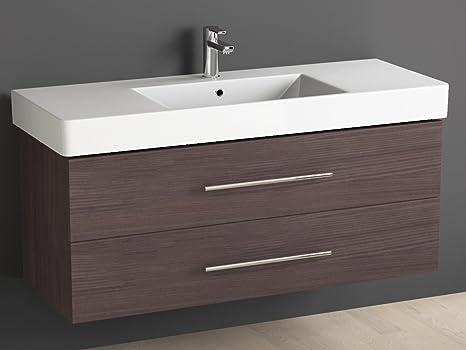 Aqua bagno mobile bagno cm con lavabo in ceramica piazza