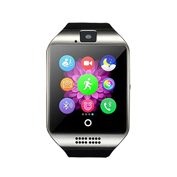 Dohomai Newest Q18 Smart Watch Bluetooth Smartwatch Phone Camera TF/SIM Card Slot Android Samsung Galaxy S7,S6,S5,Note 5,HTC,Sony,LG,Huawei,Google ...