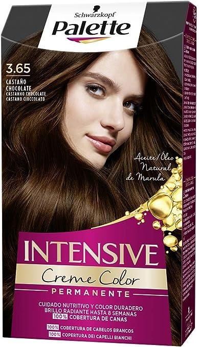Schwarzkopf Palette Intensive Creme Color - Tono 3.65 cabello ...