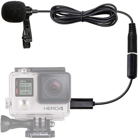 Movo GM100 Micrófono de Solapa Corbata Condensador Omnidireccional ...