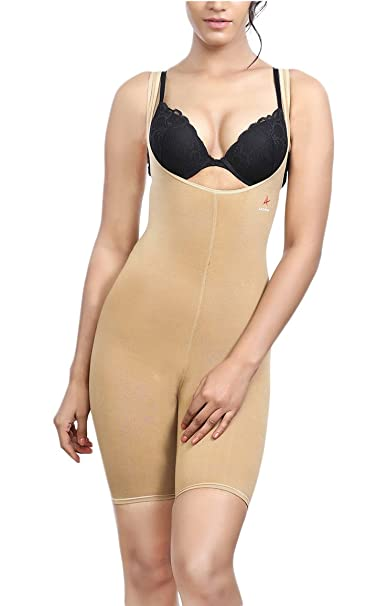 2ed7f4e6b7 Adorna Bracer Body Suit Ladies Shapewear  Amazon.in  Clothing ...