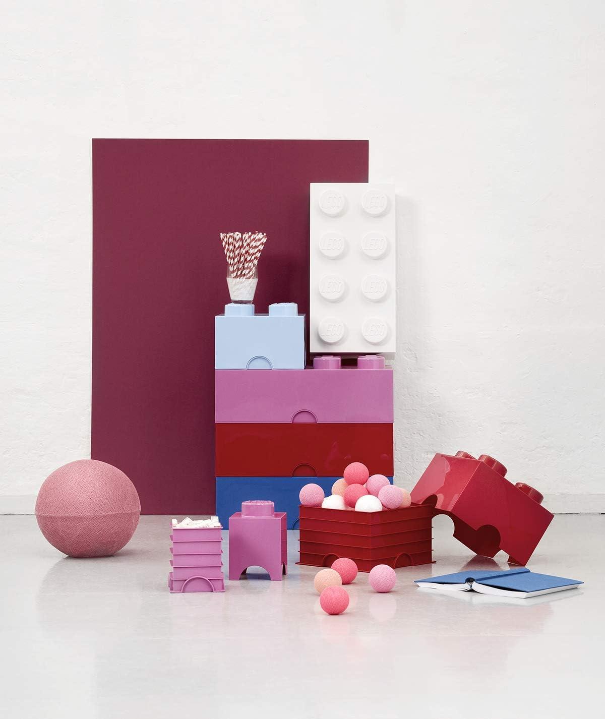 LEGO - Bloque pequeño de almacenaje, 8 Ladrillos, Color Blanco (40231735): Amazon.es: Juguetes y juegos