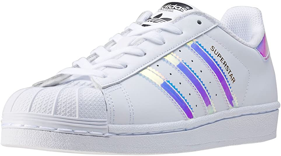 División Asentar Centelleo  Amazon.com   adidas Originals Superstar Shoes 6.5 B(M) US Women / 5.5 D(M)  US White/Metallic Silver   Sneakers