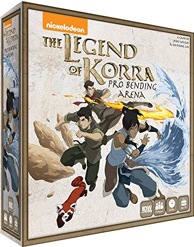 IDW Games the Legend of Kora: Pro-Bending Arena Miniatures Board Game by IDW Games