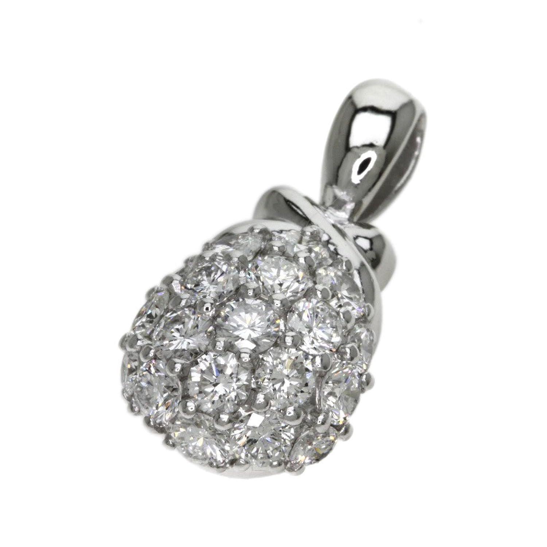 4.5g ダイヤモンド ペンダント プラチナPT900 レディース (中古) B078JYCRG3