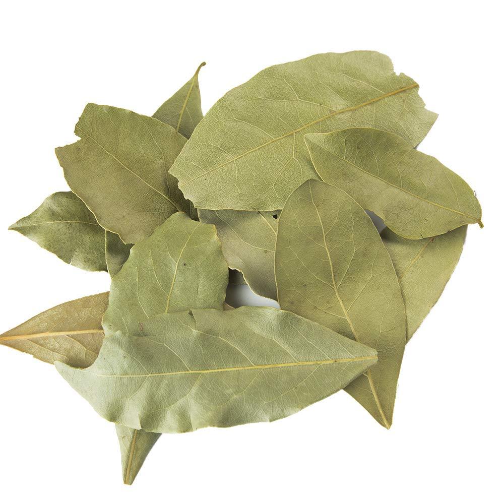Mediterranean Bay Leaves : Laurel Leaf : Dried Herb Kosher (9oz.) by Burma Spice (Image #2)
