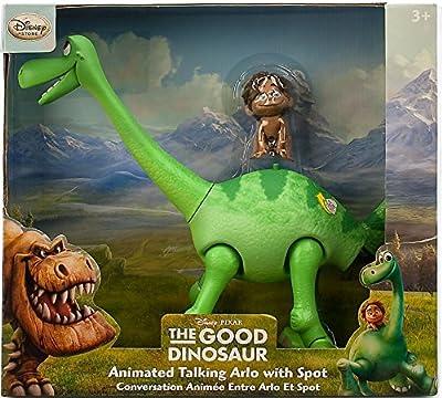 Disney Arlo Animated Talking Figure with Spot - The Good Dinosaur