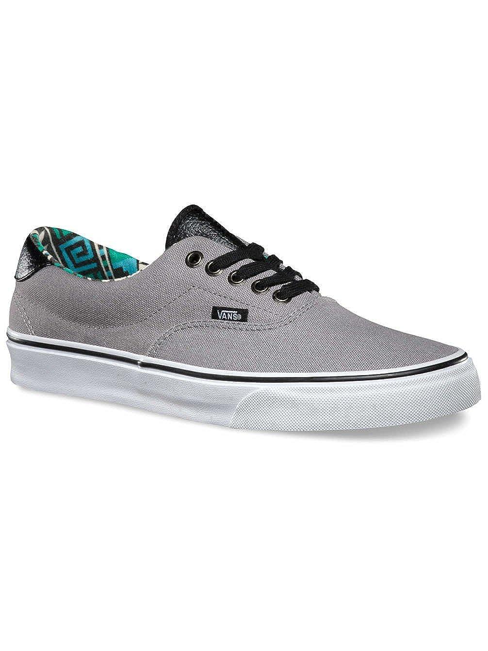 Amazon.com | Vans Era 59 Frost Gray/Geo Men's 4.5 | Fashion Sneakers