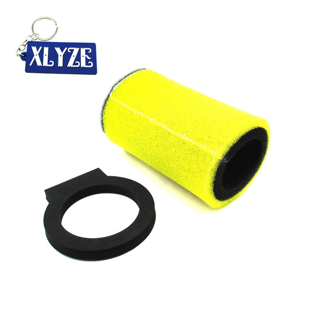 XLYZE Foam Dual Stage Air Filter for ATV 1YW-14451-00-00 Yamaha Timberwolf 250 Big Bear 350 Moto-4 250 350 Kodiak 400