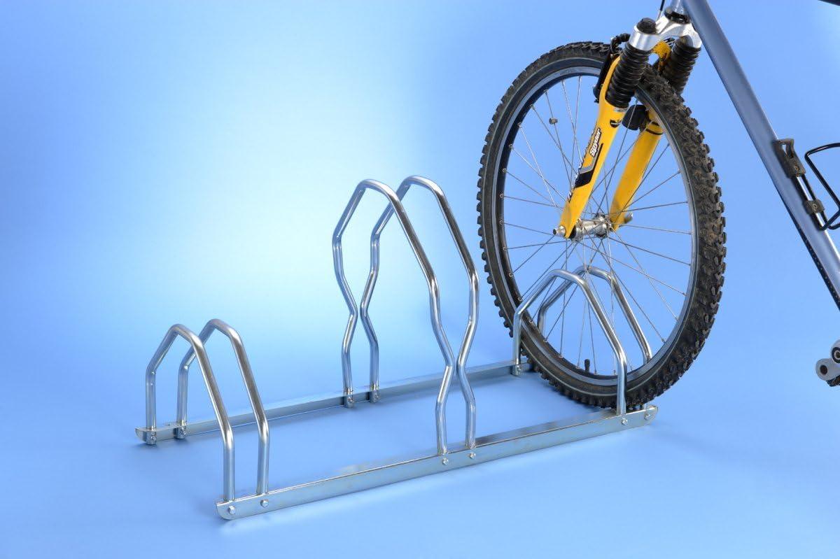 Mottez - Aparcabicicletas (3 Bicicletas, 2 Niveles): Amazon.es ...