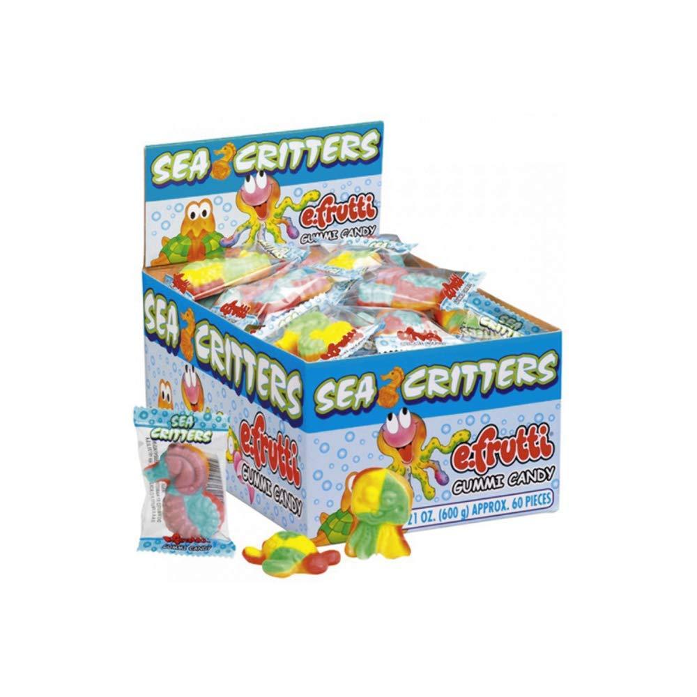 Gummy Mini Sea Critters Packs - 60 Ct. Case