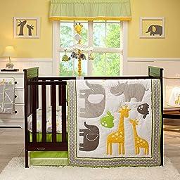 Carter\'s Animals Collection 4 Piece Crib Set
