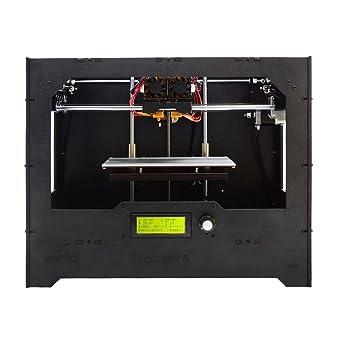 Geeetech D5 profesional Double Nozzle 3d impresora alta precisión ...