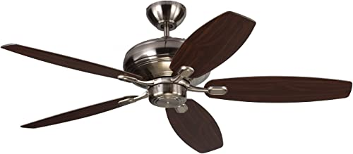 Monte Carlo 5CQM52BS Centro Max Dual Mount Energy Star 52″ Ceiling Fan