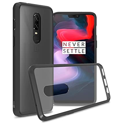 Amazon.com: Funda transparente OnePlus 6, funda [serie ...