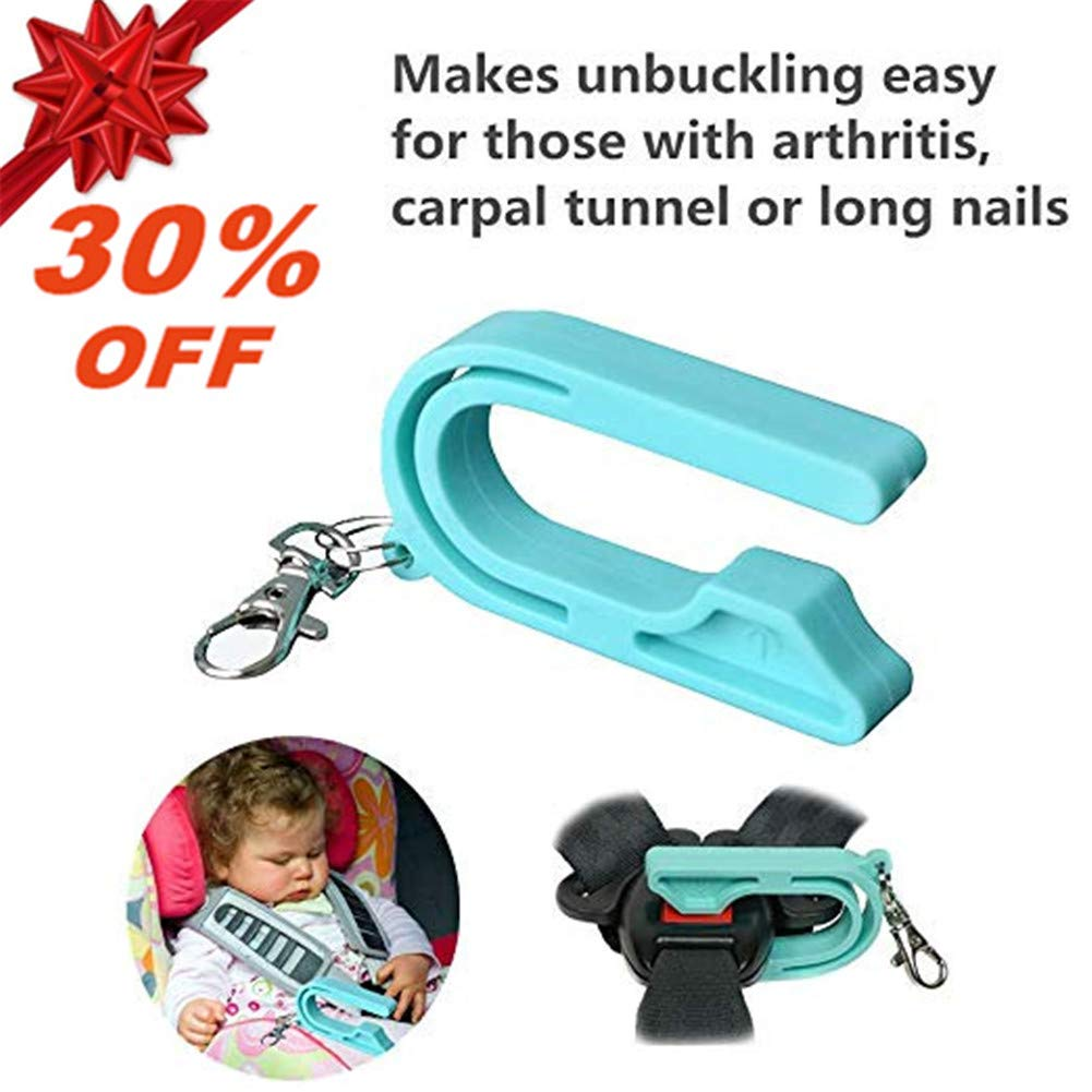 Easy Buckle Release,Car Seat Unbuckle,The Car Seat Key for for Anyone with Thumb Pain or Weakness Including Arthritis 1 Pack Child Carpal Tunnel