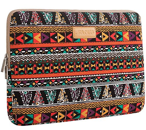 Mosiso® Bohemian Style Canvas Fabric 13-13.3 Inch Laptop / Notebook Computer / MacBook / MacBook Pro / MacBook Air / Acer / Asus / Dell / Fujitsu / Lenovo / HP / Samsung / Toshiba / Sony Sleeve Case Bag Cover, Phoenix