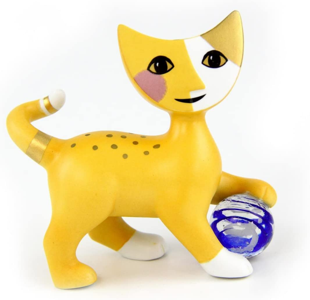 Chaton Biscuit exklusivedition D/écoration Rosina Wachtmeister Chat Figurine 31281021 Goebel Medora Porcelaine