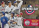 2018 Topps Opening Day Baseball Series Unopened Blaster Box with 11 Packs of 7 Cards Possible Autographs and Game Used Relics Cards