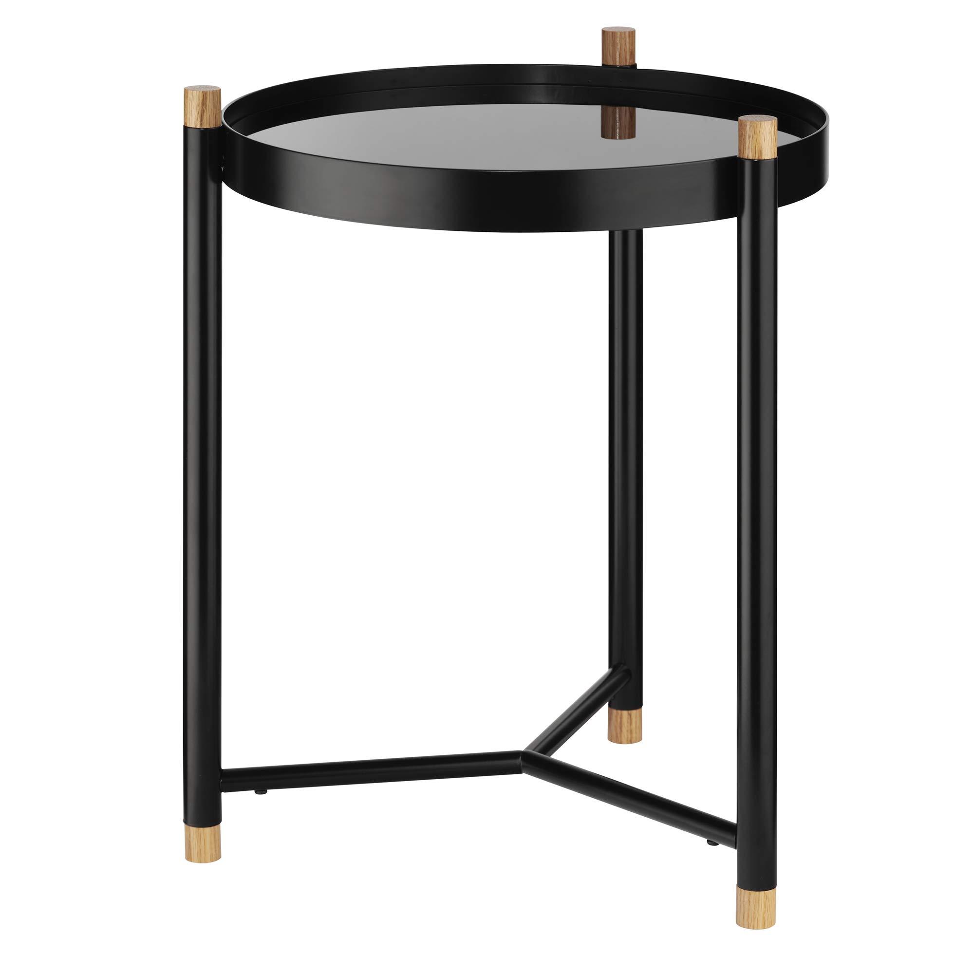 Kela Oak Coffee Table, Metal, Black, 40x 40x 52.5cm by Kela (Image #8)