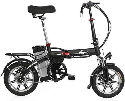 Riscko Bicicleta Eléctrica Plegable Volt Batería 10,4 Bep-48 Negro ...