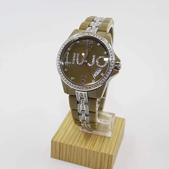 Orologio Liu Jo Luxury Celebrity Verde TLJ157  Amazon.it  Orologi ff4652f0c60