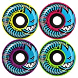 Spitfire Chargers Conical 80HD Mashup Skateboard Wheels 58mm 80a (Set of 4)
