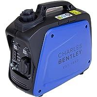 Charles Bentley Generador Inversor - 700W Portátil 4 Horas Operación Ligero 50/60 Hz 2.1l Depósito de Combustible - Al…
