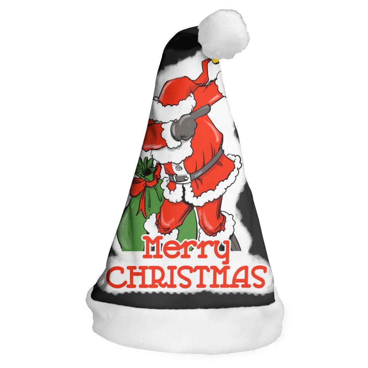173f8d61cee50 Amazon.com  SHANNON H Dabbing Santa Claus Christmas Santa Hats for Children  Adults Cat Party Recreation Costume Headbands Xmas Tree Decor Hanging   Garden   ...