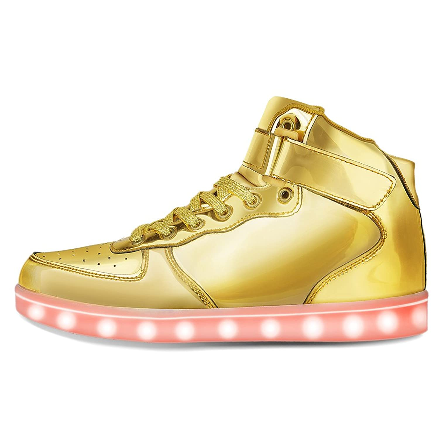 kgoing high top led light up shoes 11 colors flashing sneakers for mens womens ebay. Black Bedroom Furniture Sets. Home Design Ideas
