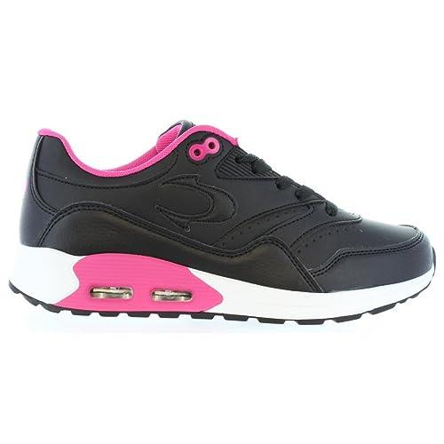 Zapatillas Deporte de Mujer JOHN SMITH Risen L W 16I Negro: Amazon.es: Zapatos y complementos