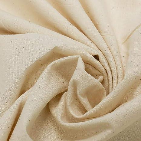 Natural Organic Cotton Greige Gauze Fabric