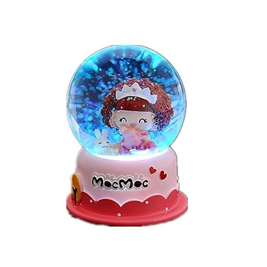 Warm Heart Crystal Ball Music Box, Regalos De Cumpleaños ...