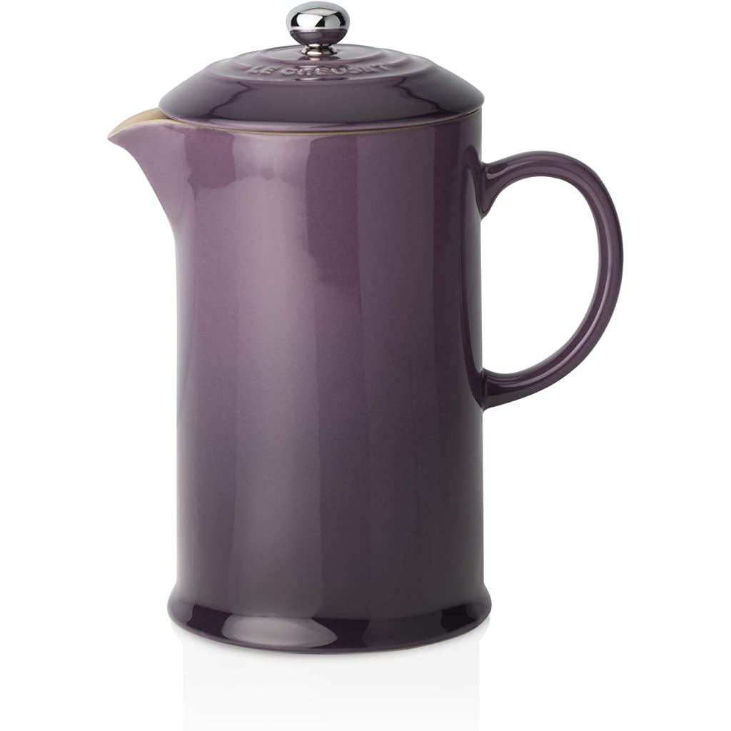 Le Creuset Stoneware Cafetiere Cassis Purple