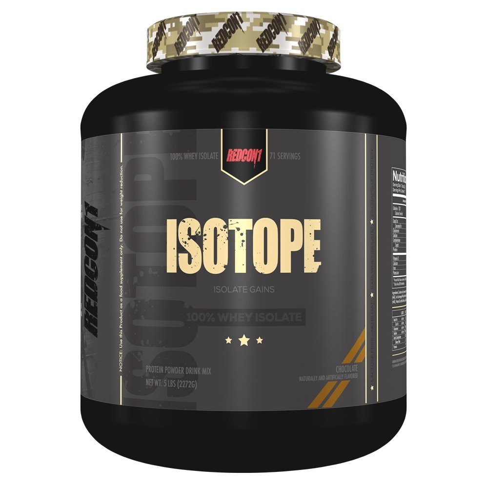 Redcon1 Isotope 100% Whey Protein Isolate (Chocolate, 5 Pounds)